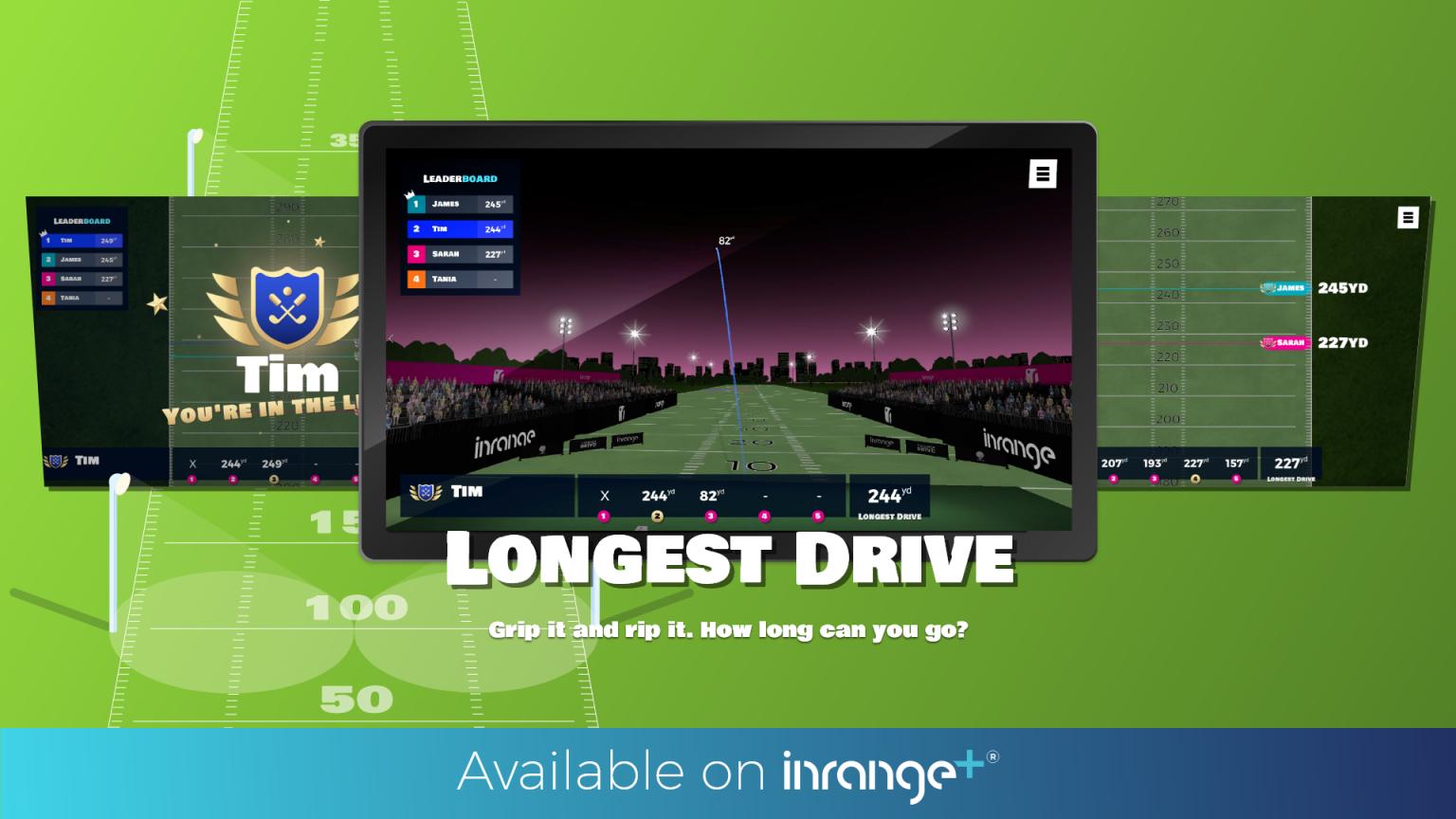 Longest Drive final